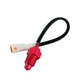 Sensor de temperatura 1/8 conector blanco / nuevo Koso