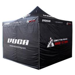 Carpa plegable VOCA Racing, 3x3m, estructura aluminio primera calidad, con bolsa