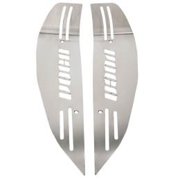 Reposapiés VOCA Racing Style Division, cortado con láser, acero inox, incl.tornillos, Yamaha Aerox / MBK Nitro