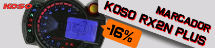 Marcador completo Koso RX2N PLUS- universal 2t/4t